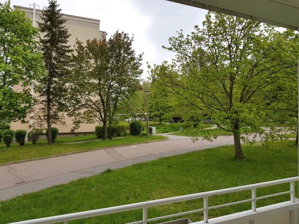 Ausblick vom Süd-Balkon