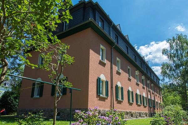 Rückseite des Hauses am Mühlgraben