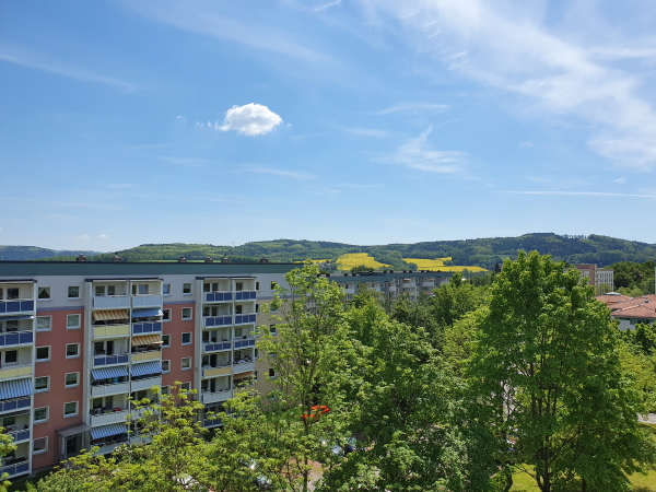 toller Ausblick nach Falkenau/Augustusburg