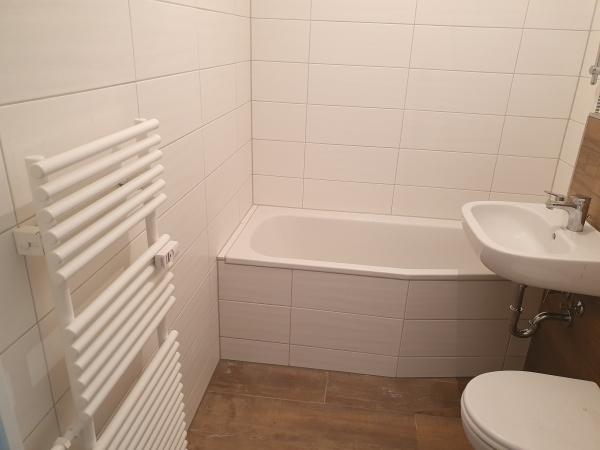 Handtuchheizkörper im Bad