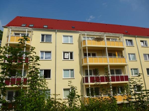 farbenfrohe Balkone