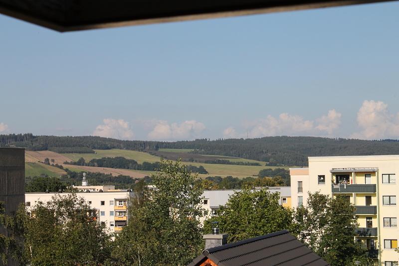 Ausblick nach Falkenau