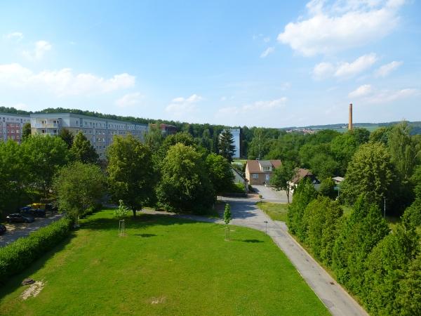 grünes Wohnumfeld