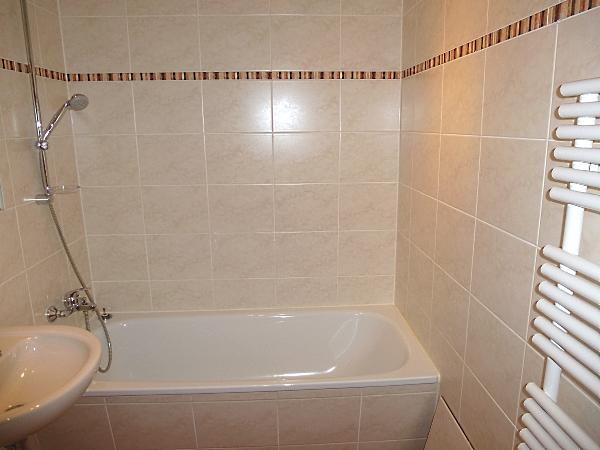 ein Bad mit Badewanne