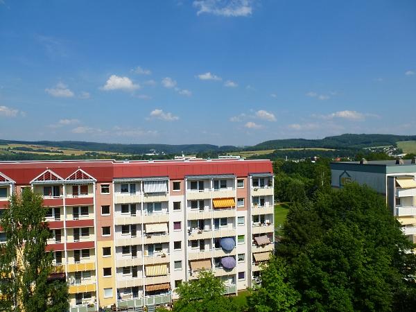 sonnige Balkone