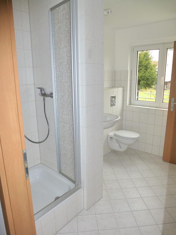 zusätzliche Dusche im Bad